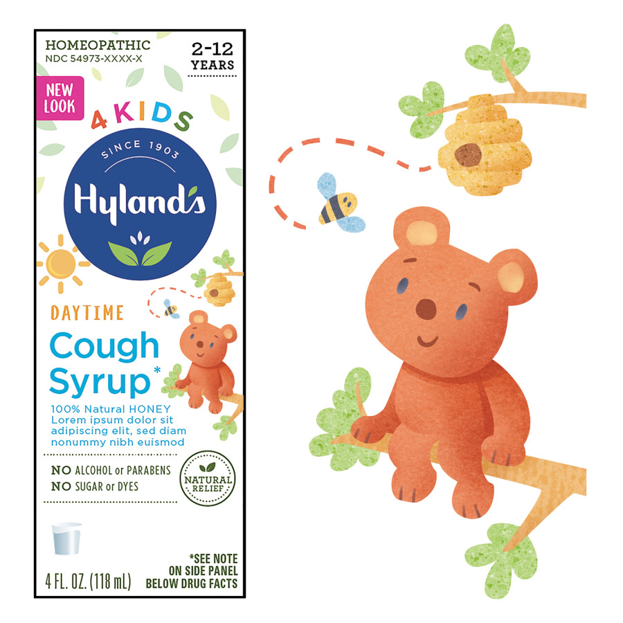 Hyland's Packaging