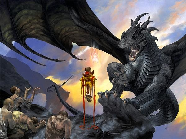 New fantasy illustrator:  Randy Gallegos
