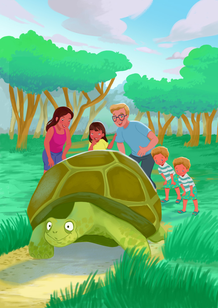 Discovering the tortoise in The Galapagos