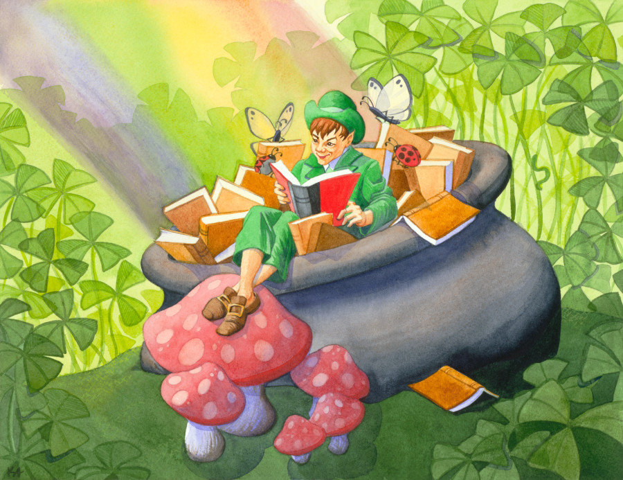 Find a Pot of Gold at the End of this St. Patrick's Day Illustration Collection!