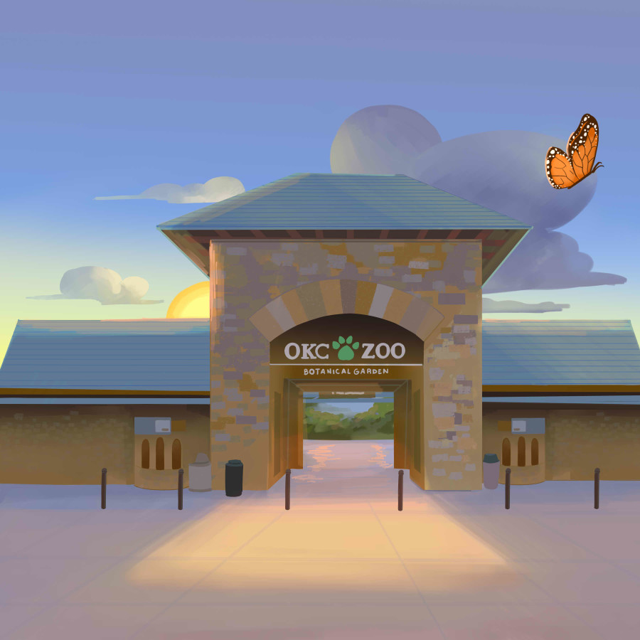 Juniper's Butterfly Garden Picturebook for OKC Zoo