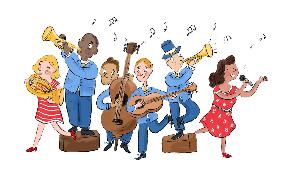 Illustration Series for the Royal Scottish National Orchestra