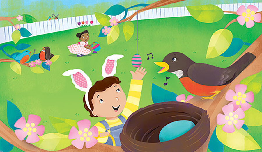 Give Yourself a Serotonin Boost with Our 2021 Easter Illustration Collection!
