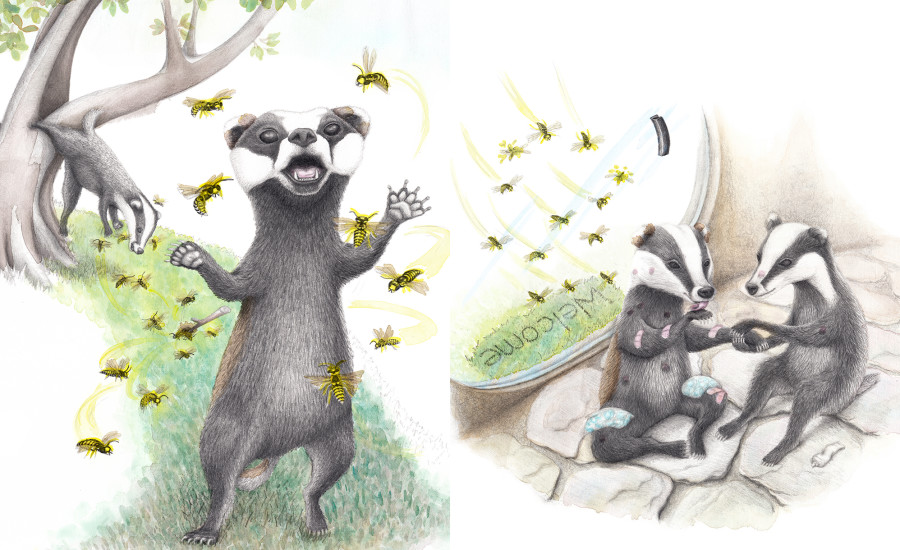 Curious Little Badgers - mini series