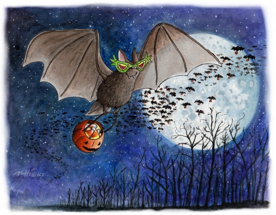 13 Artists' Magically Spooky Children's Book Illustrations for Halloween
