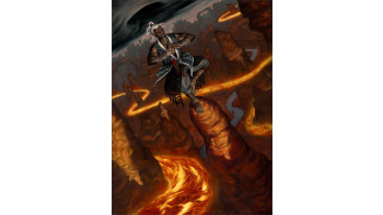 'Elemental Anchorite', for Wizards of the Coast