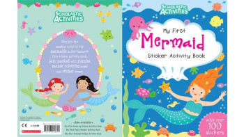 My First Mermaid Sticker Activity Book
