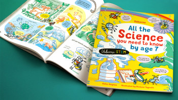 Usborne children's Book - All the Science You Need to Know By Age 7