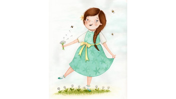 Charming new Spring illustration by Amy Adele