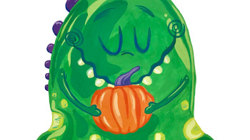 Happy Halloween from the Slime Monster!