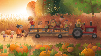 Hey! It's the Great Autumn Pumpkin Illustration Collection!