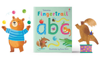 Fingertrail ABC Board book
