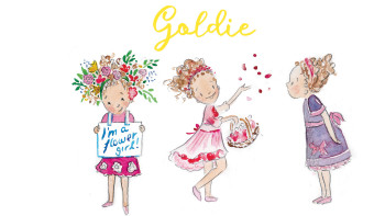 A flower girl to inspire!