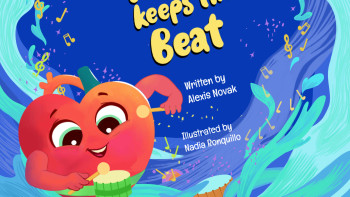 "Children's Board Book ""The heart Keeps the beat"""