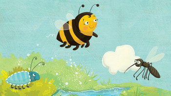 Laura Watson illustrates early learning music set for Russian publisher Umnitsa
