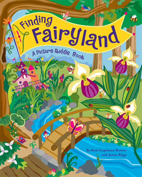 Finding Fairyland, A Picture Riddle Book