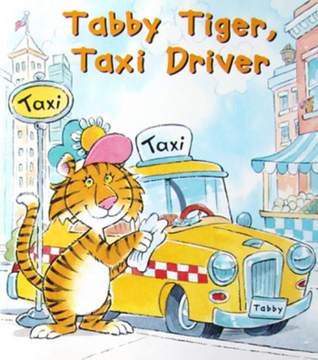 Tabby Tiger Taxi Driver