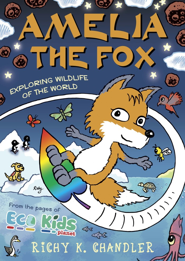 Amelia the Fox (Published in the monthly Eco Kids Planet Magazine)