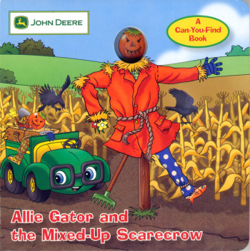 allie gator and the mixed up scarecrow