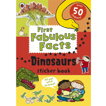 Ladybird First Fabulous Facts: Dinosaurs Sticker