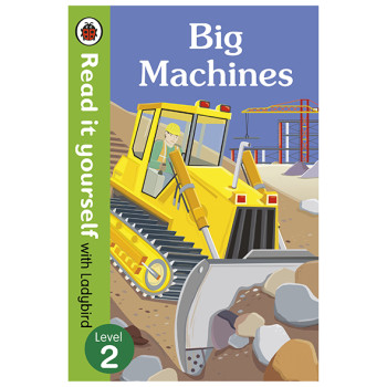 Read It Yourself with Ladybird Big Machines