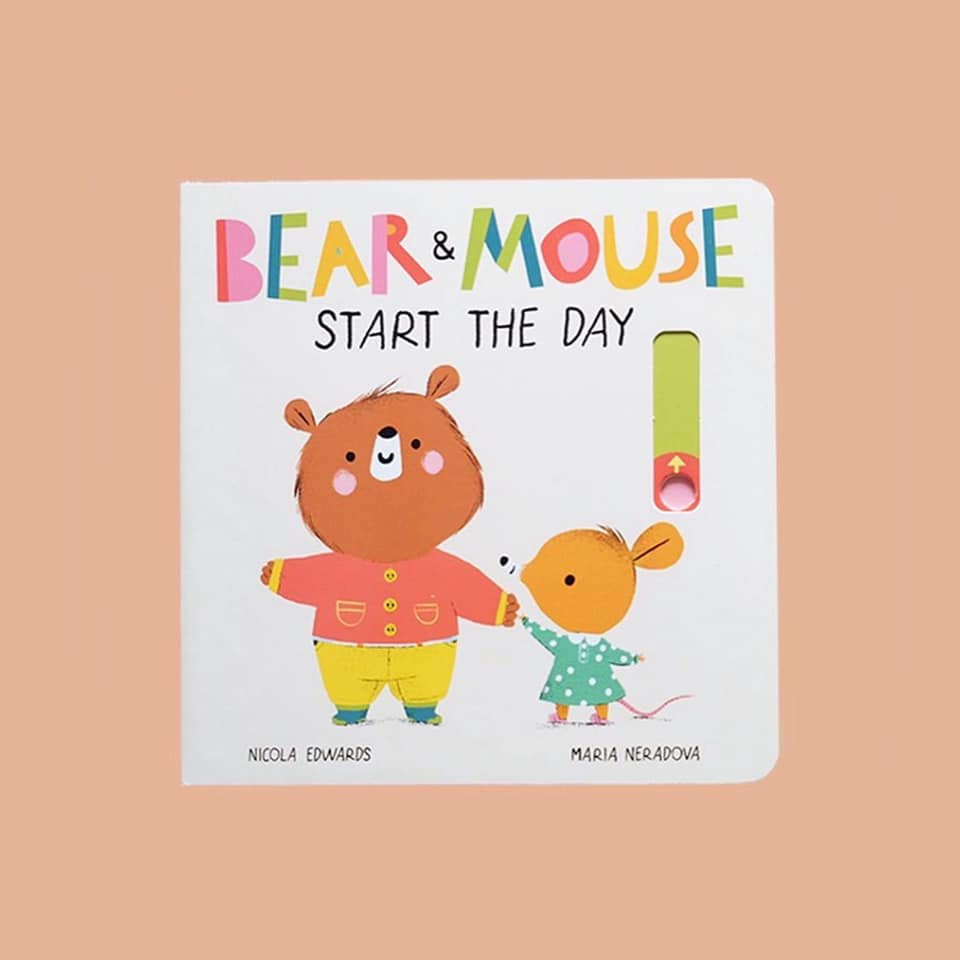 Bear and Mouse Start the Day