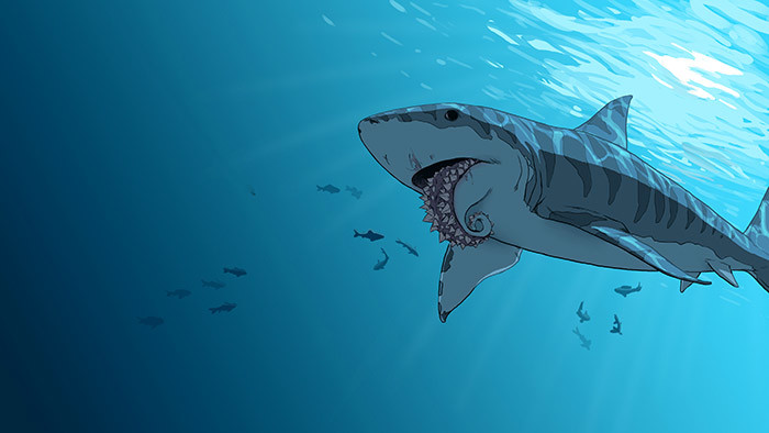 Helicoprion Concept + How To Survive A Shark Attack