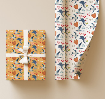 Wrapping paper designs