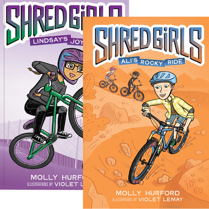 """Shred Girls: Lindsay's Joy Ride"" and ""Shred Girls: Ali's Rocky Ride"""
