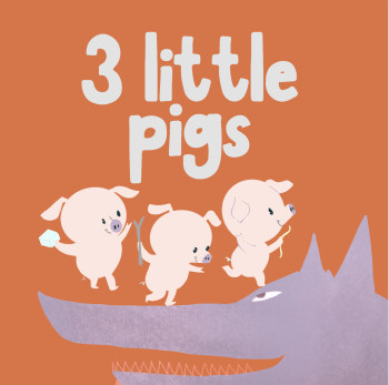 Board book series - 3 little pigs