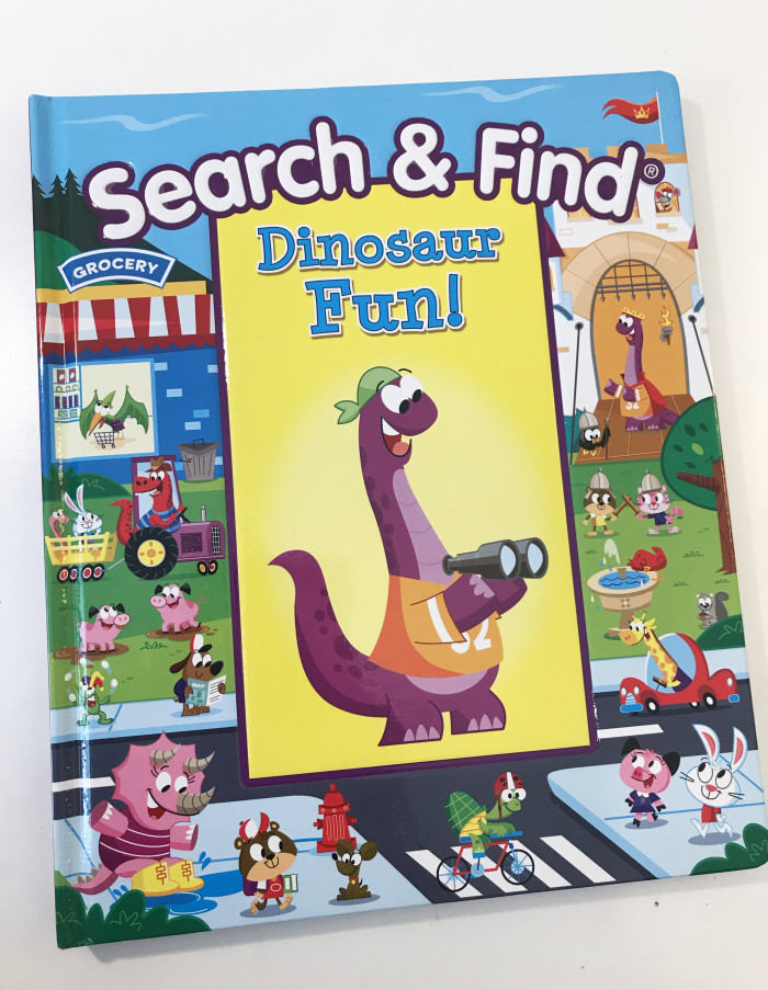 Search & Find Dinosaur Fun!