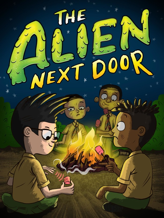 The Alien Next Door 3: Alien Scout